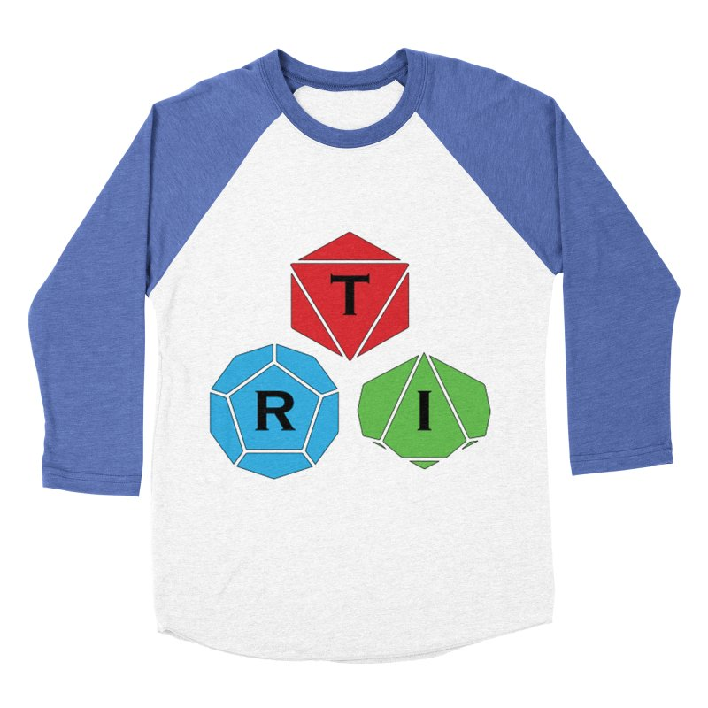 TRI Logo (Color) Women's Baseball Triblend Longsleeve T-Shirt by The Role Initiative's Artist Shop