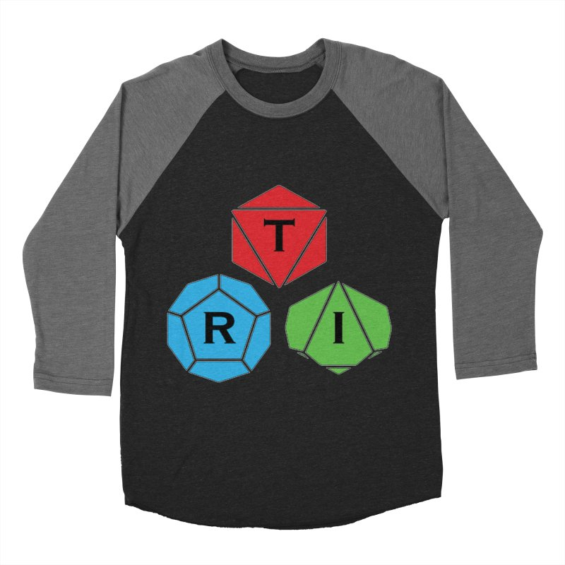TRI Logo (Color) Men's Baseball Triblend Longsleeve T-Shirt by The Role Initiative's Artist Shop