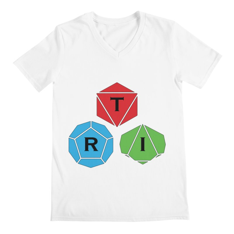 TRI Logo (Color) Men's V-Neck by The Role Initiative's Artist Shop