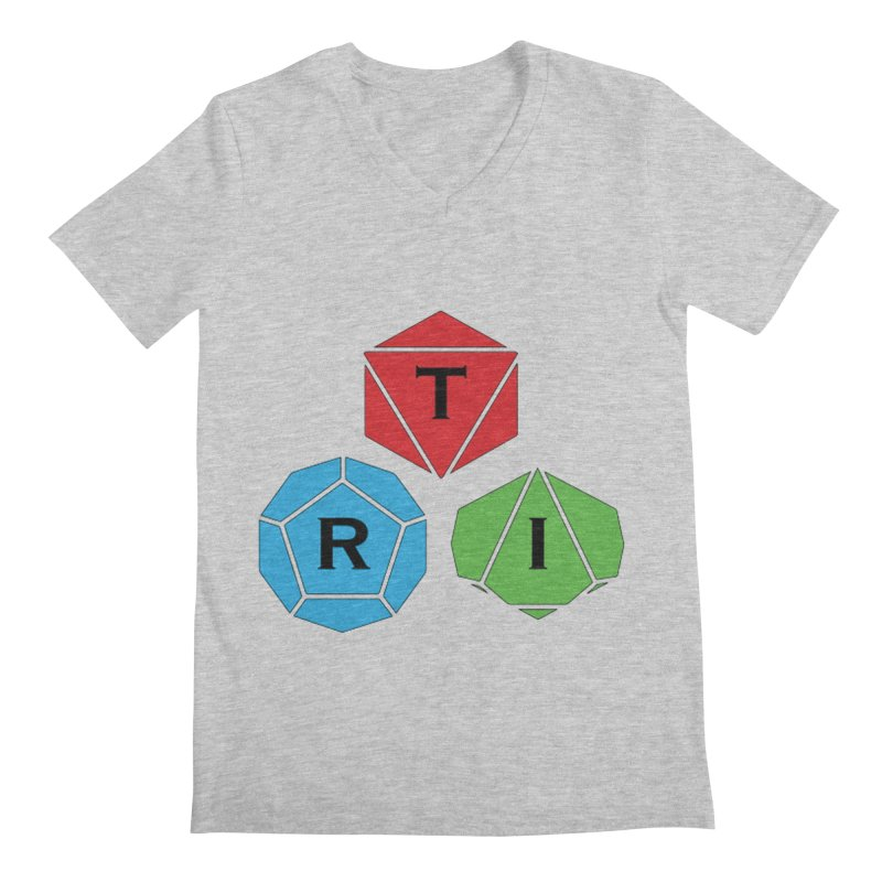 TRI Logo (Color) Men's V-Neck by The Role Initiative's Artist Shop