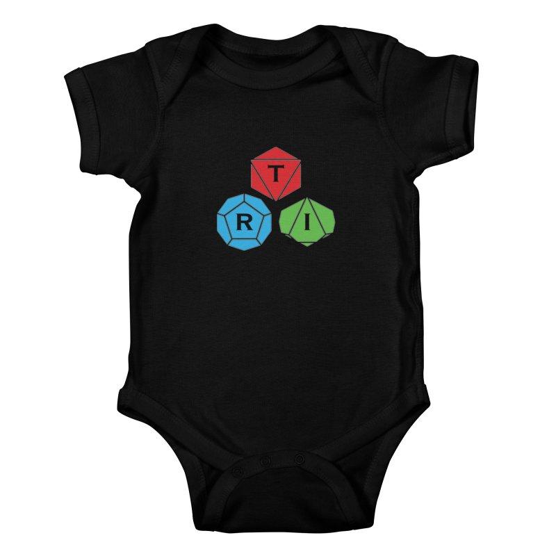 TRI Logo (Color) Kids Baby Bodysuit by The Role Initiative's Artist Shop