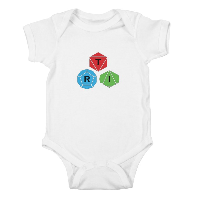 TRI Logo (Color) Kids Baby Bodysuit by The Role Initiative's Artist Shop