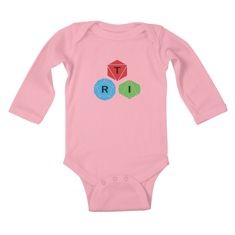 TRI Logo (Color) Kids Baby Longsleeve Bodysuit by The Role Initiative's Artist Shop