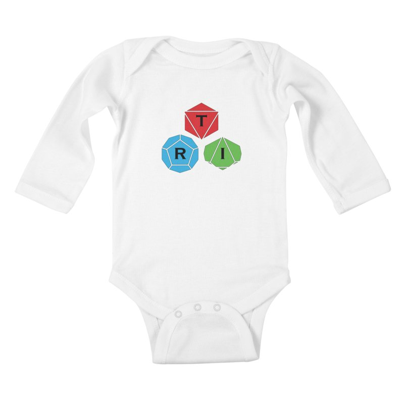 TRI Logo (Color) Kids Baby Longsleeve Bodysuit by The Role Initiative's Artist Shop