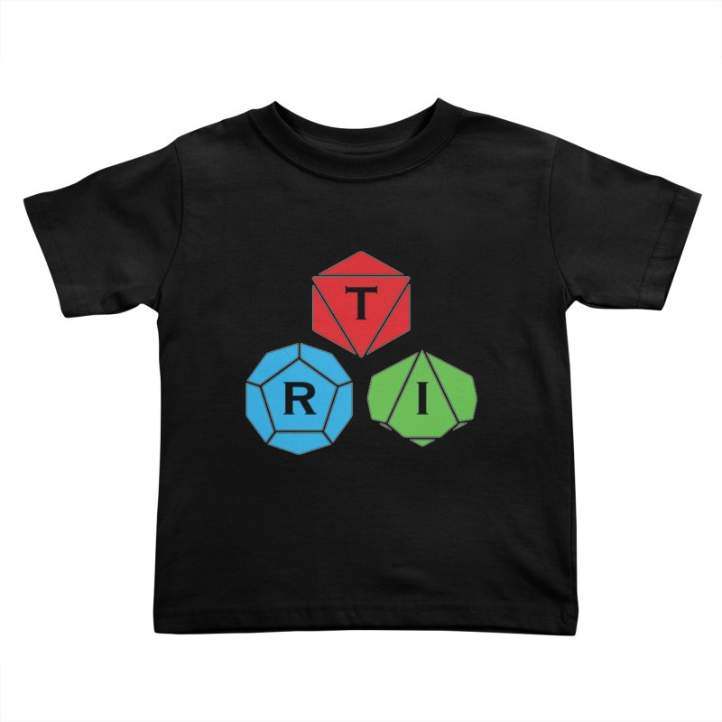 TRI Logo (Color) Kids Toddler T-Shirt by The Role Initiative's Artist Shop