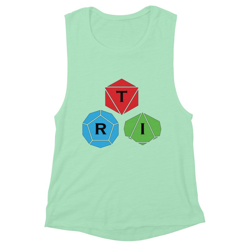 TRI Logo (Color) Women's Muscle Tank by The Role Initiative's Artist Shop