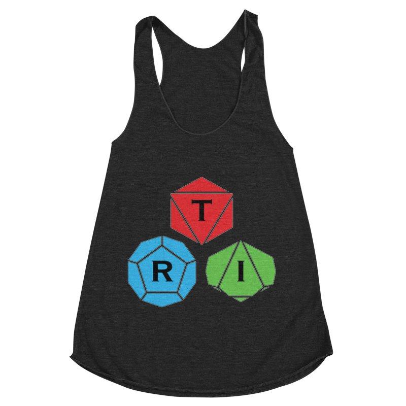 TRI Logo (Color) Women's Racerback Triblend Tank by The Role Initiative's Artist Shop