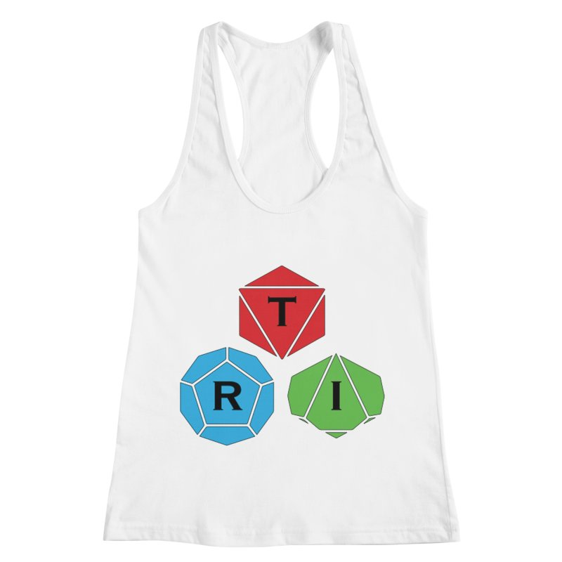 TRI Logo (Color) Women's Racerback Tank by The Role Initiative's Artist Shop