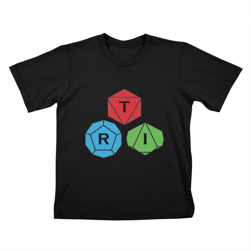 TRI Logo (Color) Kids T-Shirt by The Role Initiative's Artist Shop