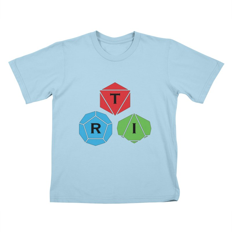 TRI Logo (Color) Kids T-Shirt by The Role Initiative's Artist Shop
