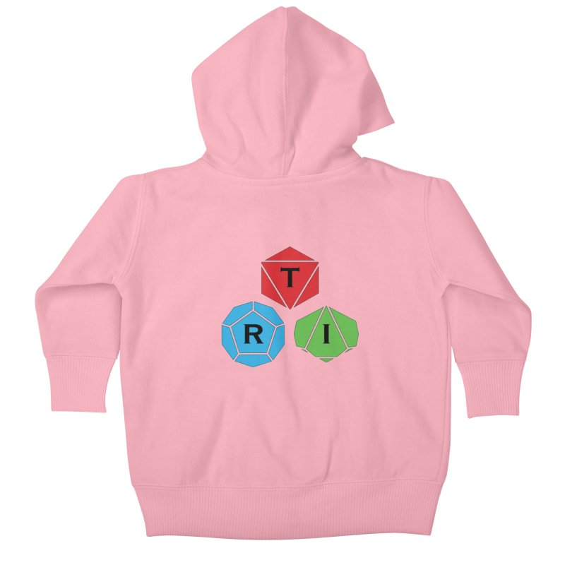 TRI Logo (Color) Kids Baby Zip-Up Hoody by The Role Initiative's Artist Shop