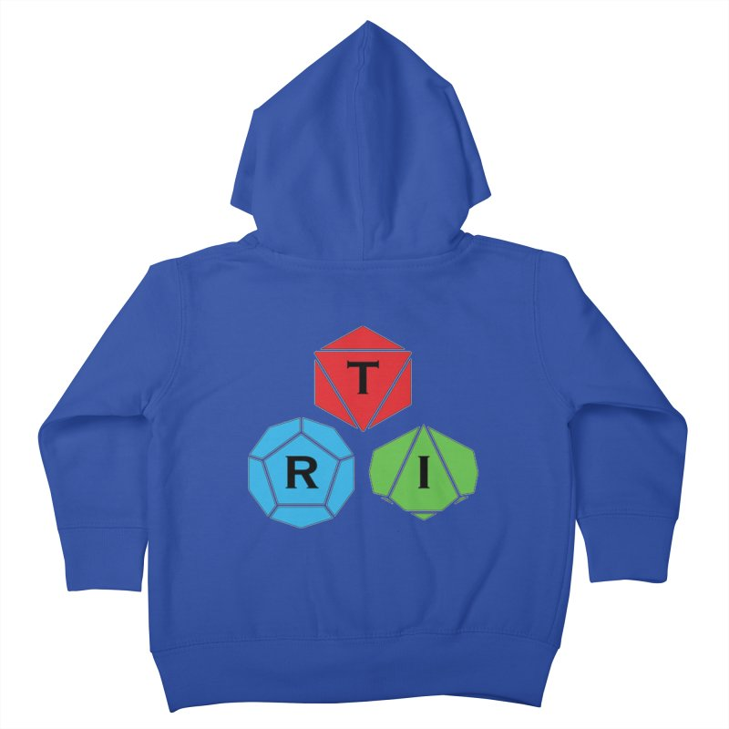 TRI Logo (Color) Kids Toddler Zip-Up Hoody by The Role Initiative's Artist Shop
