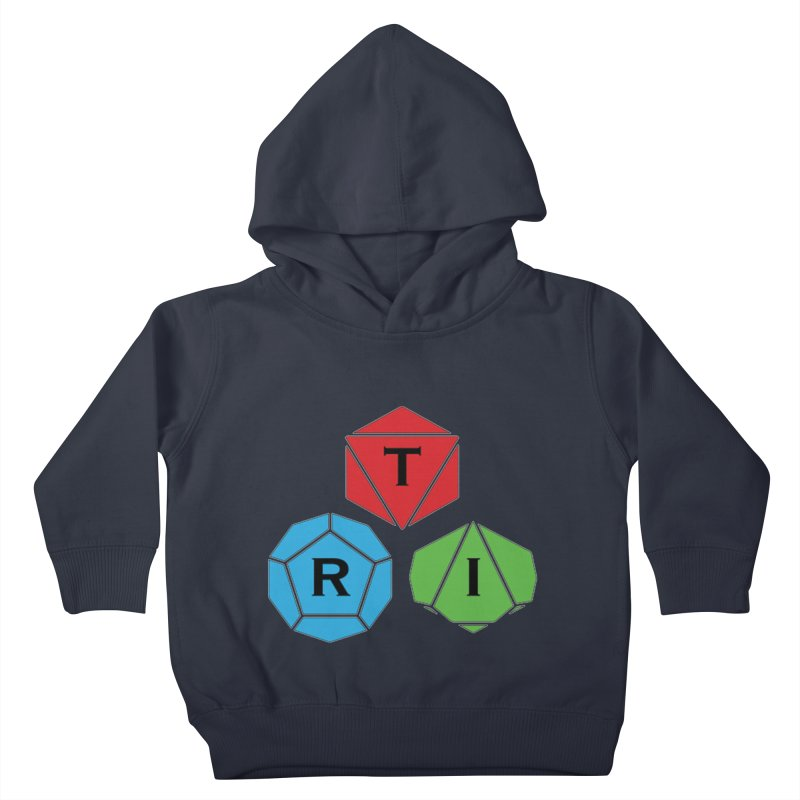 TRI Logo (Color) Kids Toddler Pullover Hoody by The Role Initiative's Artist Shop
