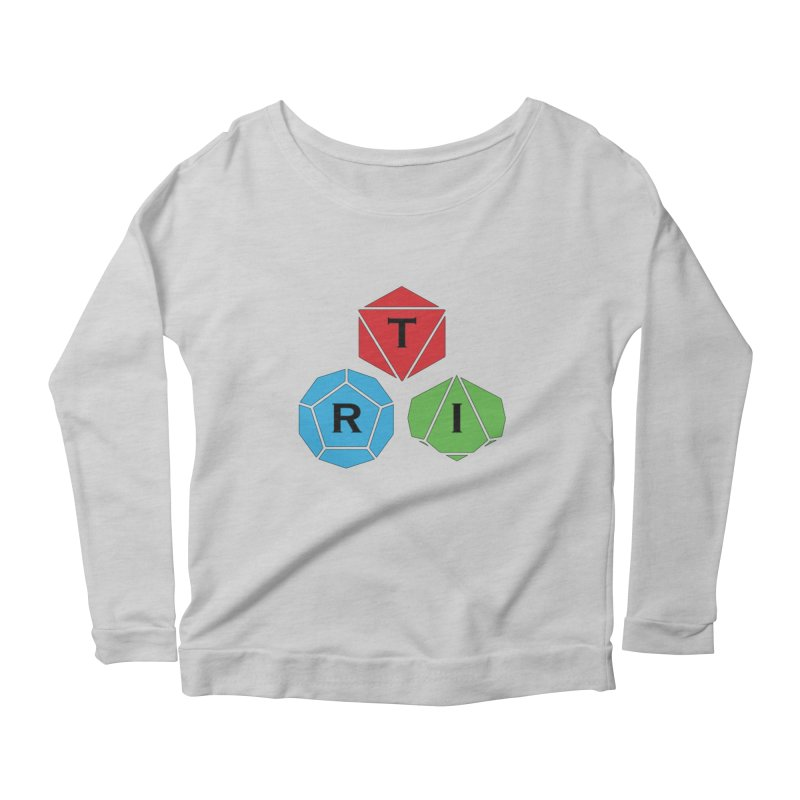 TRI Logo (Color) Women's Scoop Neck Longsleeve T-Shirt by The Role Initiative's Artist Shop