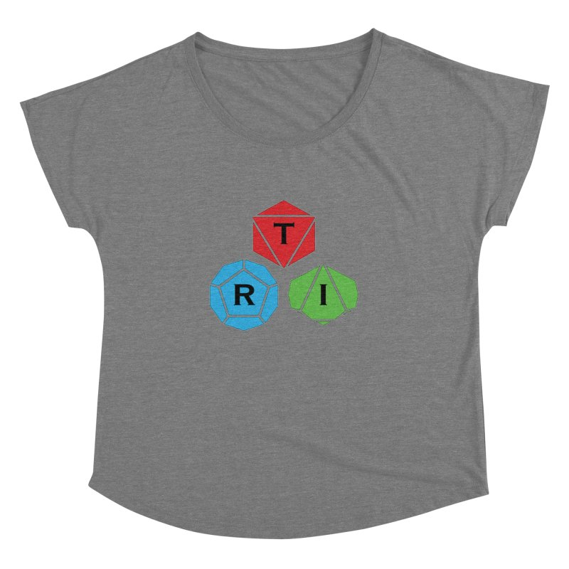 TRI Logo (Color) Women's Dolman Scoop Neck by The Role Initiative's Artist Shop