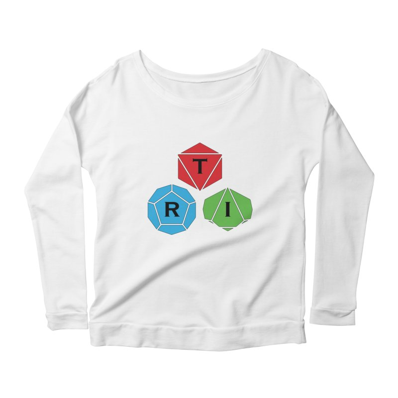 TRI Logo (Color) Women's Scoop Neck Longsleeve T-Shirt by The Role Initiative's Artist Shop