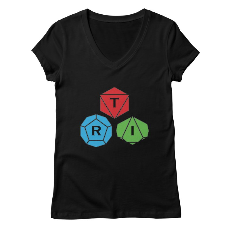TRI Logo (Color) Women's Regular V-Neck by The Role Initiative's Artist Shop