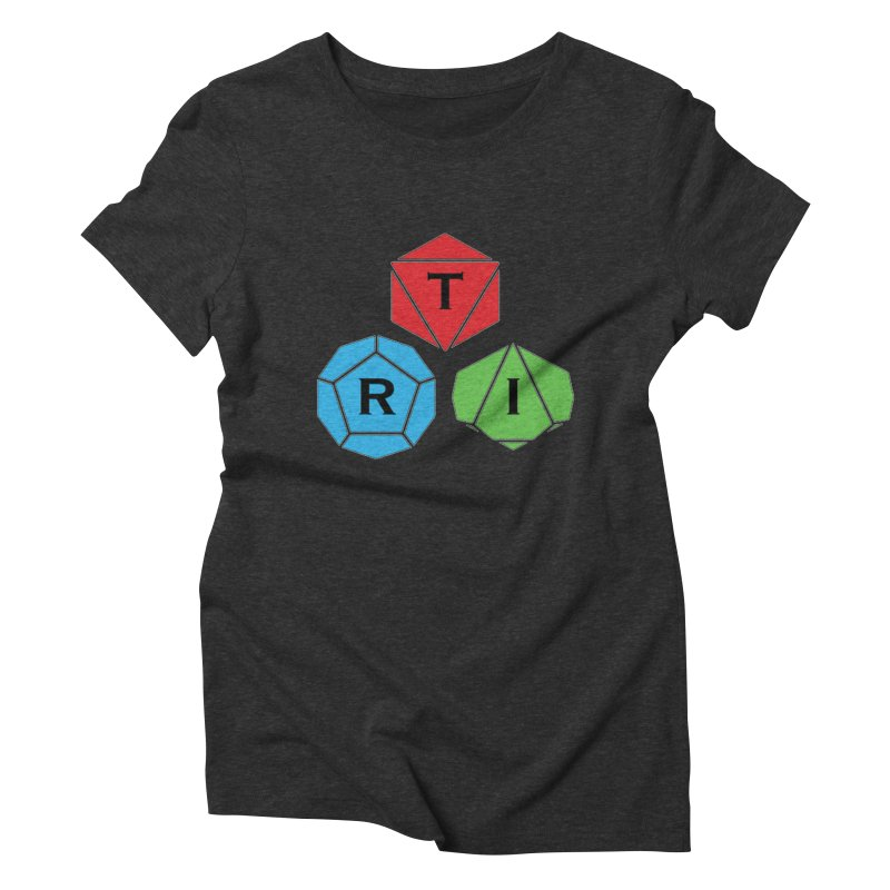 TRI Logo (Color) Women's Triblend T-Shirt by The Role Initiative's Artist Shop