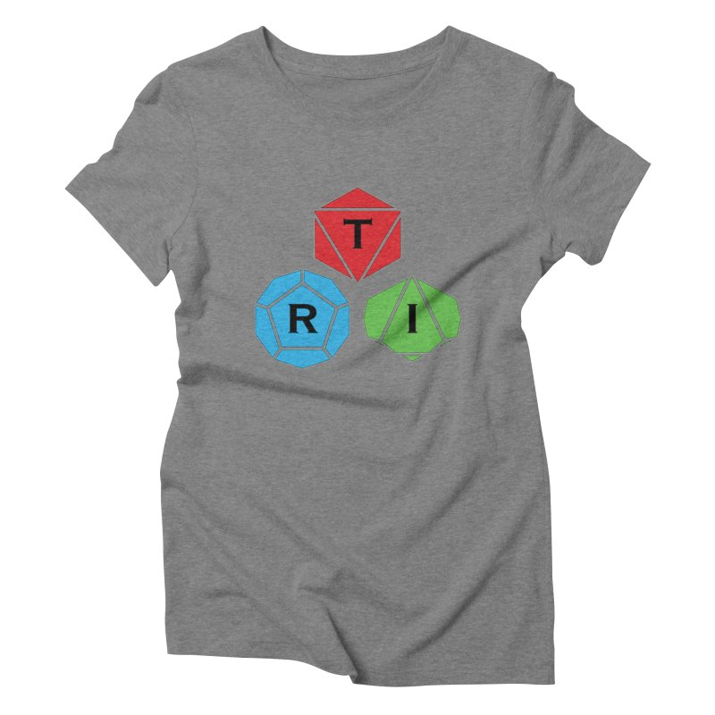 TRI Logo (Color) Women's Triblend T-Shirt by The Role Initiative's Artist Shop