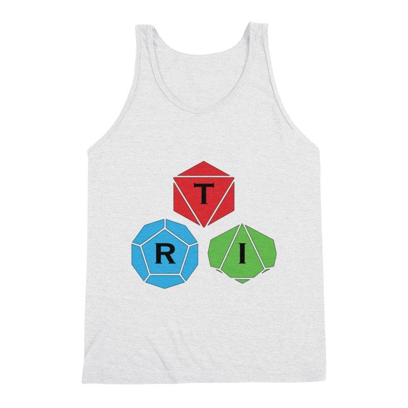 TRI Logo (Color) Men's Triblend Tank by The Role Initiative's Artist Shop