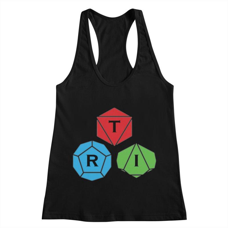 TRI Logo (Color) Women's Racerback Tank by The Role Initiative's Artist Shop