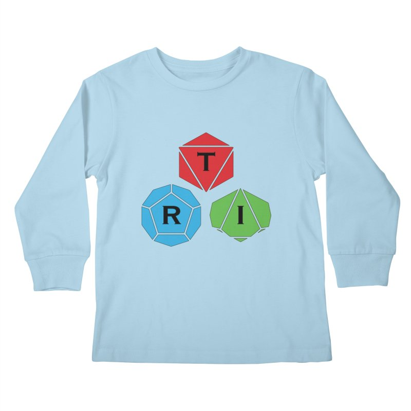 TRI Logo (Color) Kids Longsleeve T-Shirt by The Role Initiative's Artist Shop