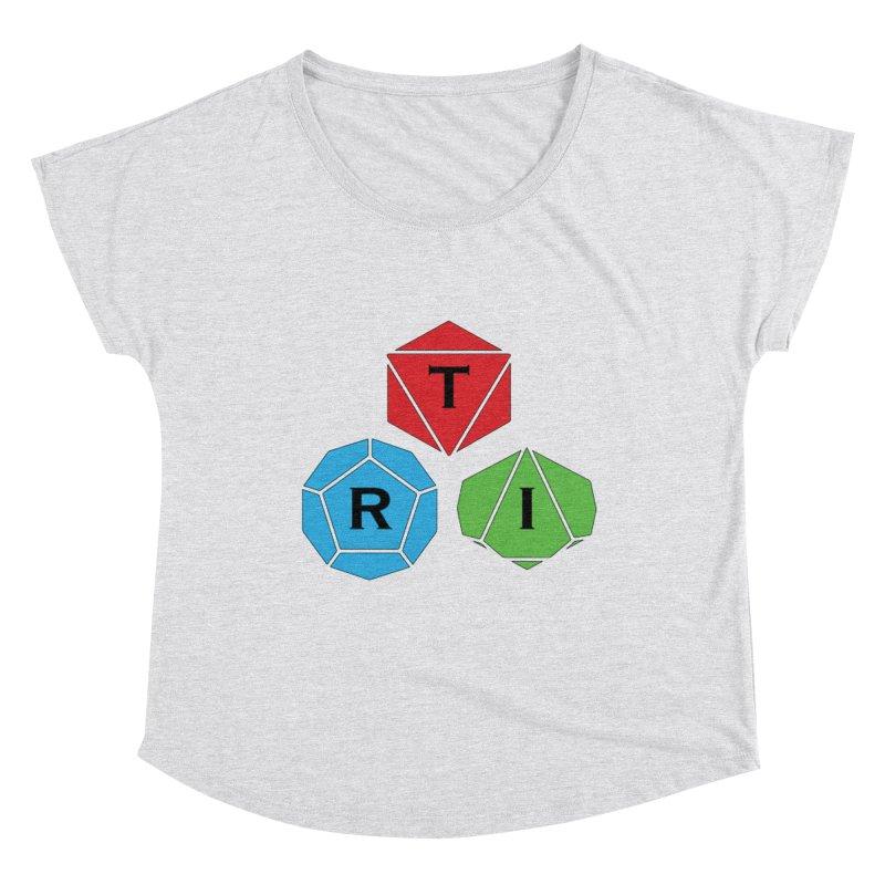 TRI Logo (Color) Women's Scoop Neck by The Role Initiative's Artist Shop