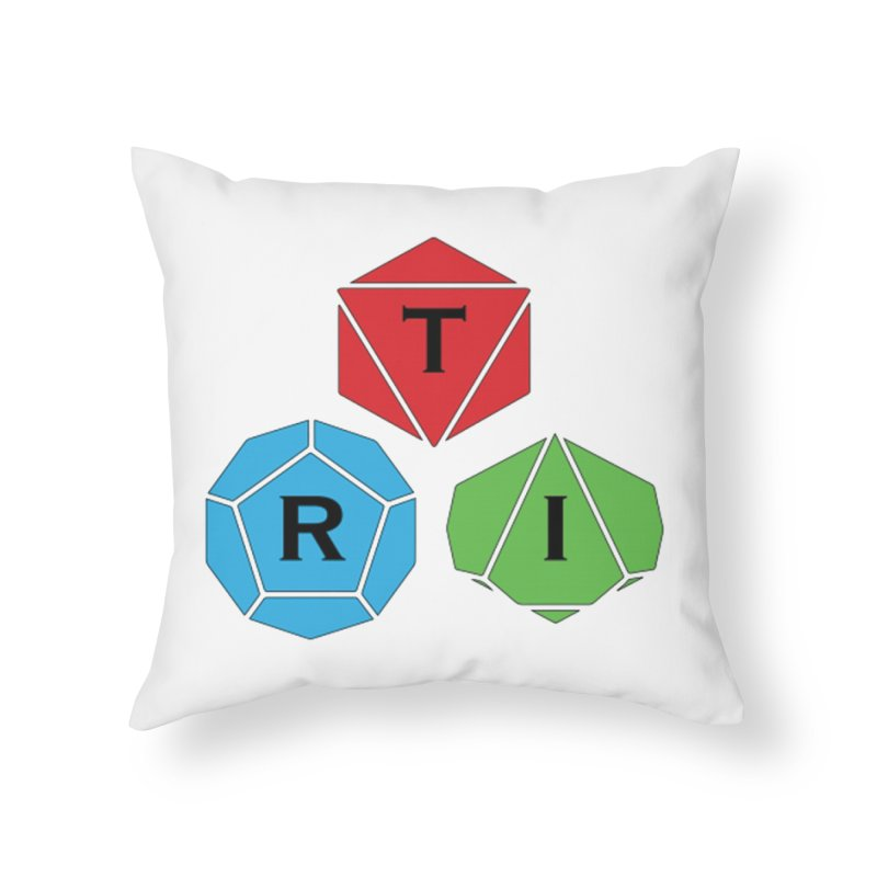 TRI Logo (Color) Home Throw Pillow by The Role Initiative's Artist Shop