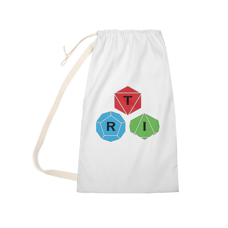 TRI Logo (Color) Accessories Laundry Bag Bag by The Role Initiative's Artist Shop
