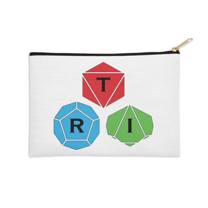 TRI Logo (Color) Accessories Zip Pouch by The Role Initiative's Artist Shop
