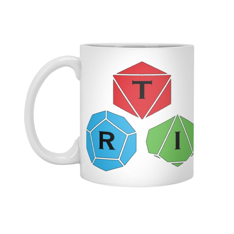 TRI Logo (Color) Accessories Standard Mug by The Role Initiative's Artist Shop