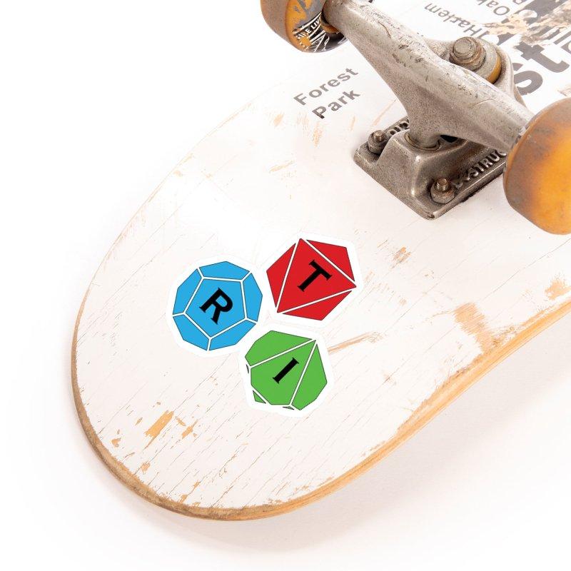 TRI Logo (Color) Accessories Sticker by The Role Initiative's Artist Shop