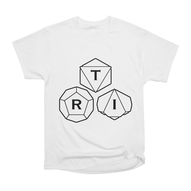 TRI Black Logo Women's T-Shirt by The Role Initiative's Artist Shop