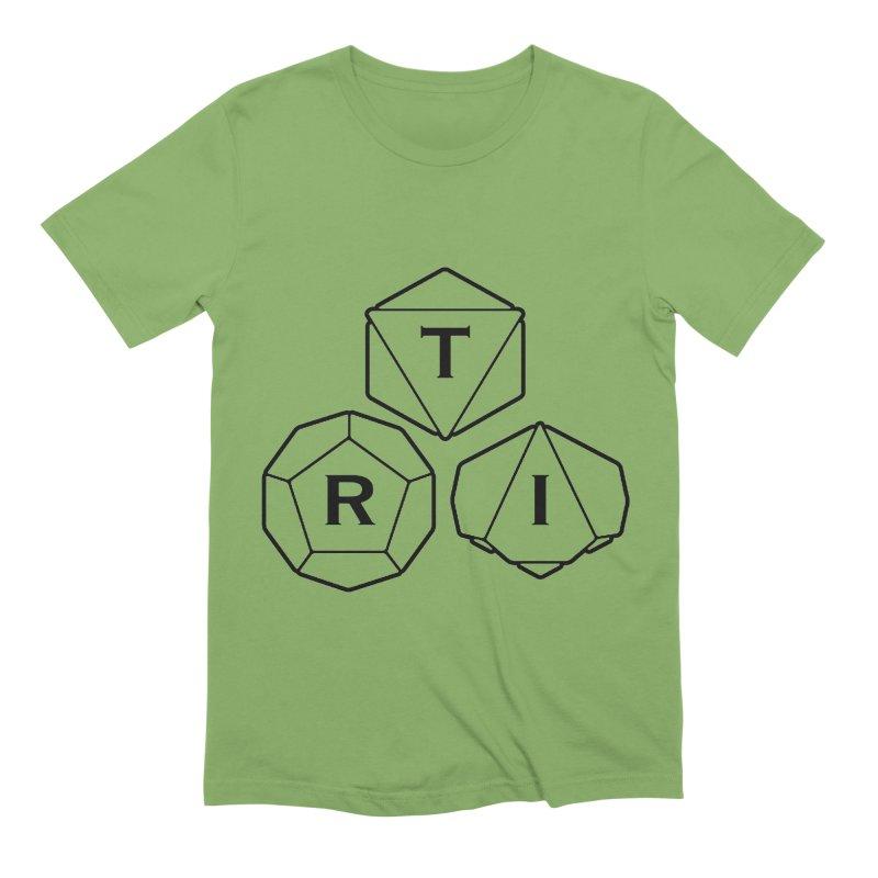 TRI Black Logo Men's Extra Soft T-Shirt by The Role Initiative's Artist Shop