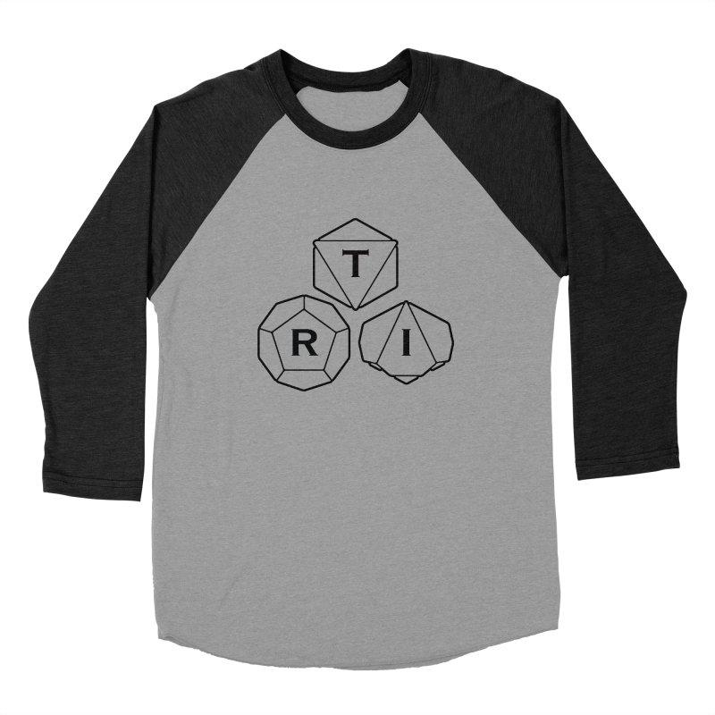 TRI Black Logo Women's Longsleeve T-Shirt by The Role Initiative's Artist Shop
