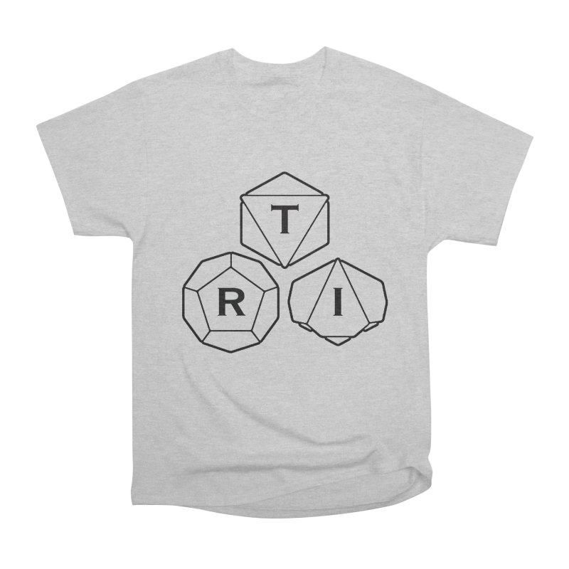 TRI Black Logo Men's Heavyweight T-Shirt by The Role Initiative's Artist Shop