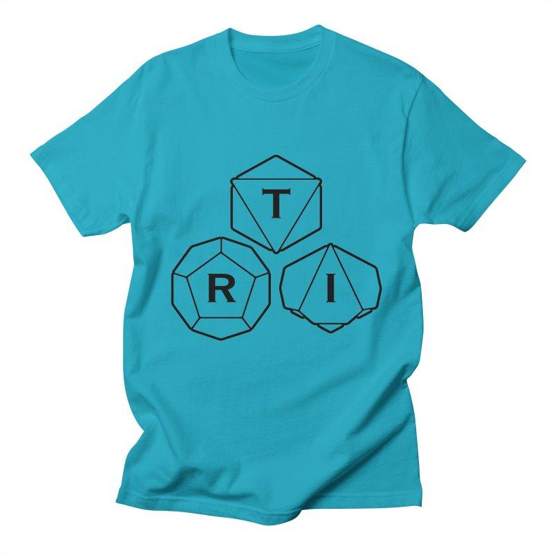 TRI Black Logo Men's T-Shirt by The Role Initiative's Artist Shop