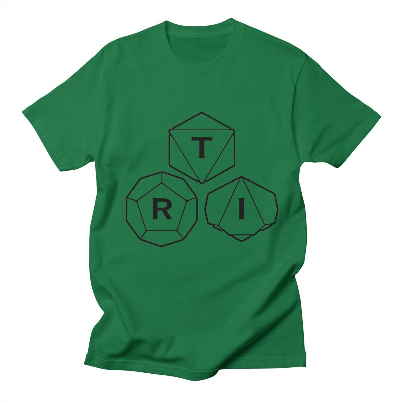 TRI Black Logo Men's T-Shirt by The Role Initiative's Artist Shop