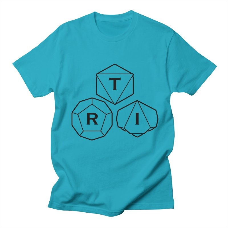 TRI Black Logo Women's Regular Unisex T-Shirt by The Role Initiative's Artist Shop