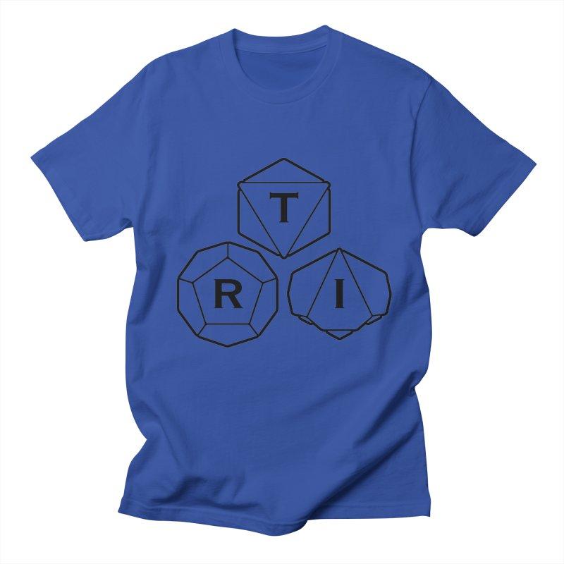 TRI Black Logo Men's Regular T-Shirt by The Role Initiative's Artist Shop