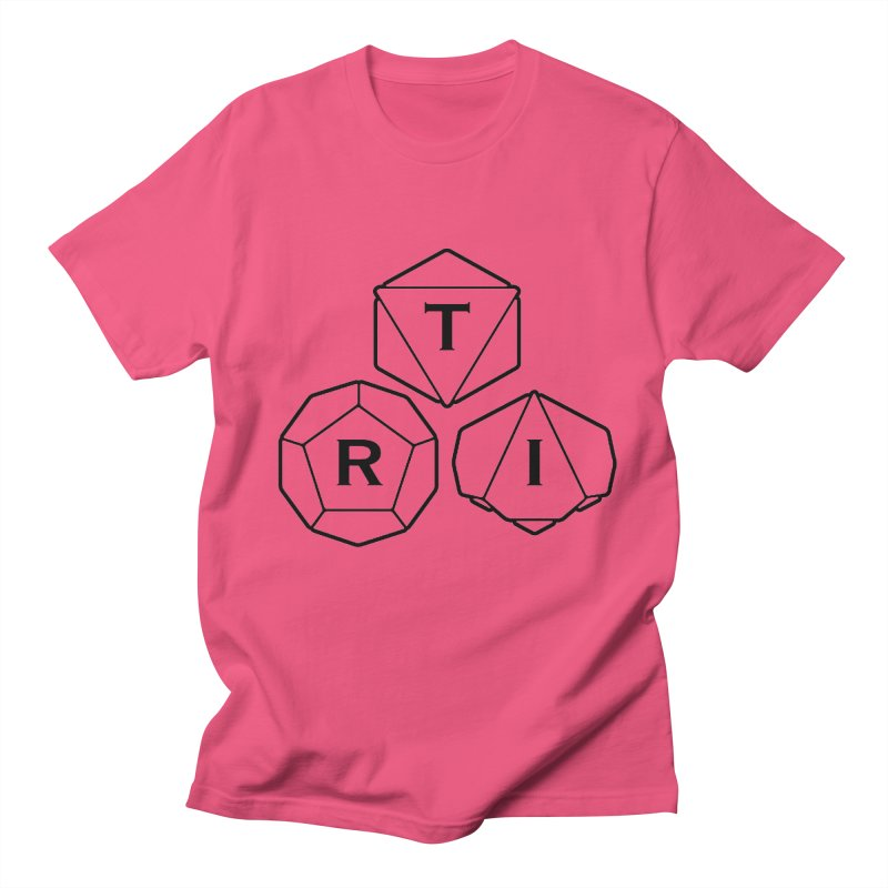 TRI Black Logo Men's Regular T-Shirt by The Role Initiative's Artist Shop