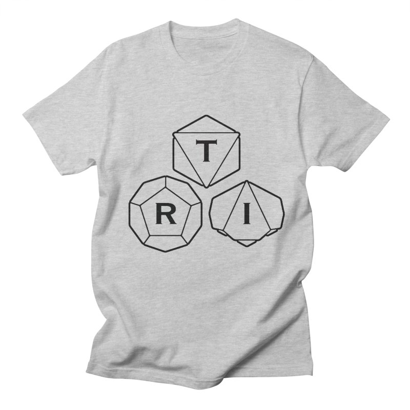 TRI Black Logo Women's Regular Unisex T-Shirt by The Role Initiative's Artist Shop
