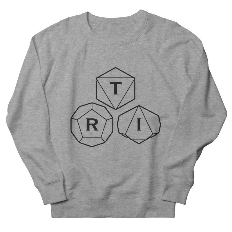 TRI Black Logo Women's French Terry Sweatshirt by The Role Initiative's Artist Shop
