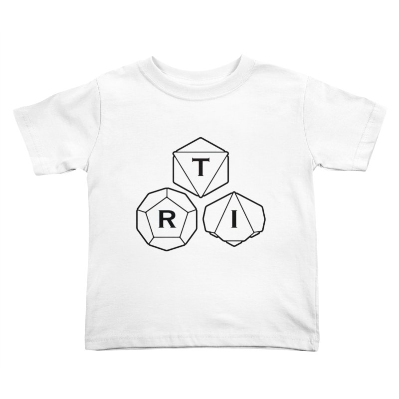 TRI Black Logo Kids Toddler T-Shirt by The Role Initiative's Artist Shop
