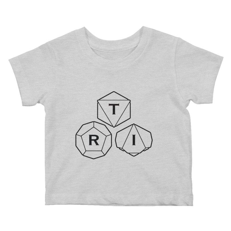 TRI Black Logo Kids Baby T-Shirt by The Role Initiative's Artist Shop