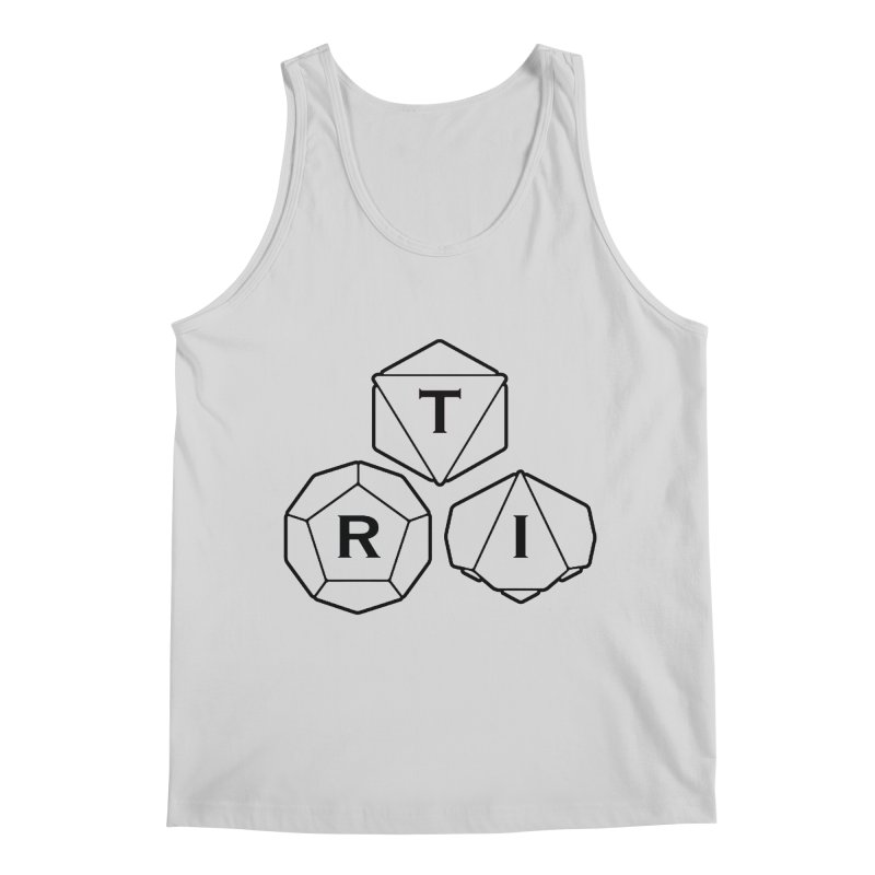 TRI Black Logo Men's Tank by The Role Initiative's Artist Shop