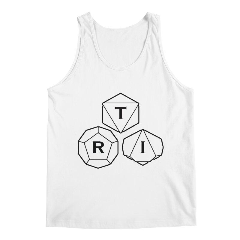 TRI Black Logo Men's Regular Tank by The Role Initiative's Artist Shop