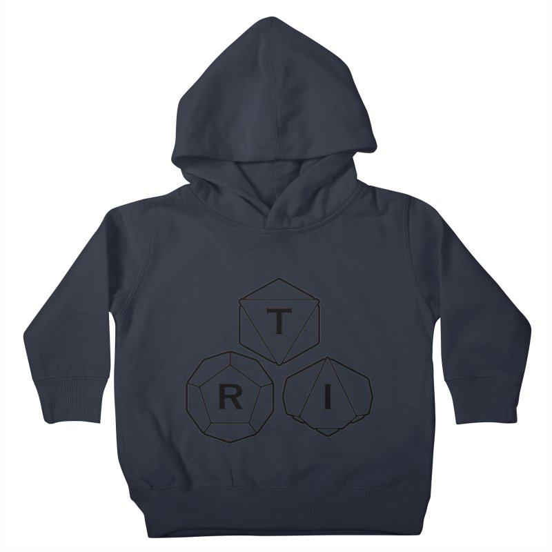 TRI Black Logo Kids Toddler Pullover Hoody by The Role Initiative's Artist Shop
