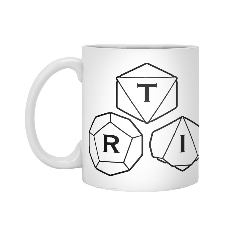 TRI Black Logo Accessories Standard Mug by The Role Initiative's Artist Shop