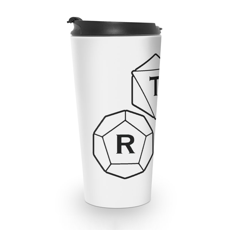 TRI Black Logo Accessories Travel Mug by The Role Initiative's Artist Shop